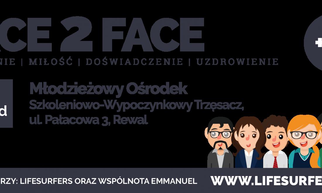 FACE2FACE – Weekend Młodych – 04-05 listopada 2017